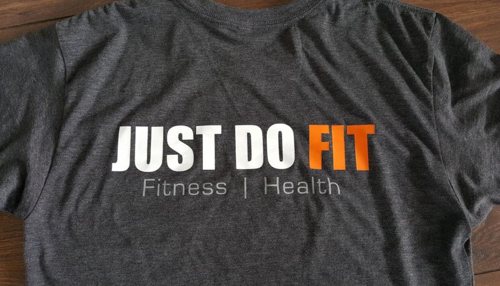 Justdofit shirt